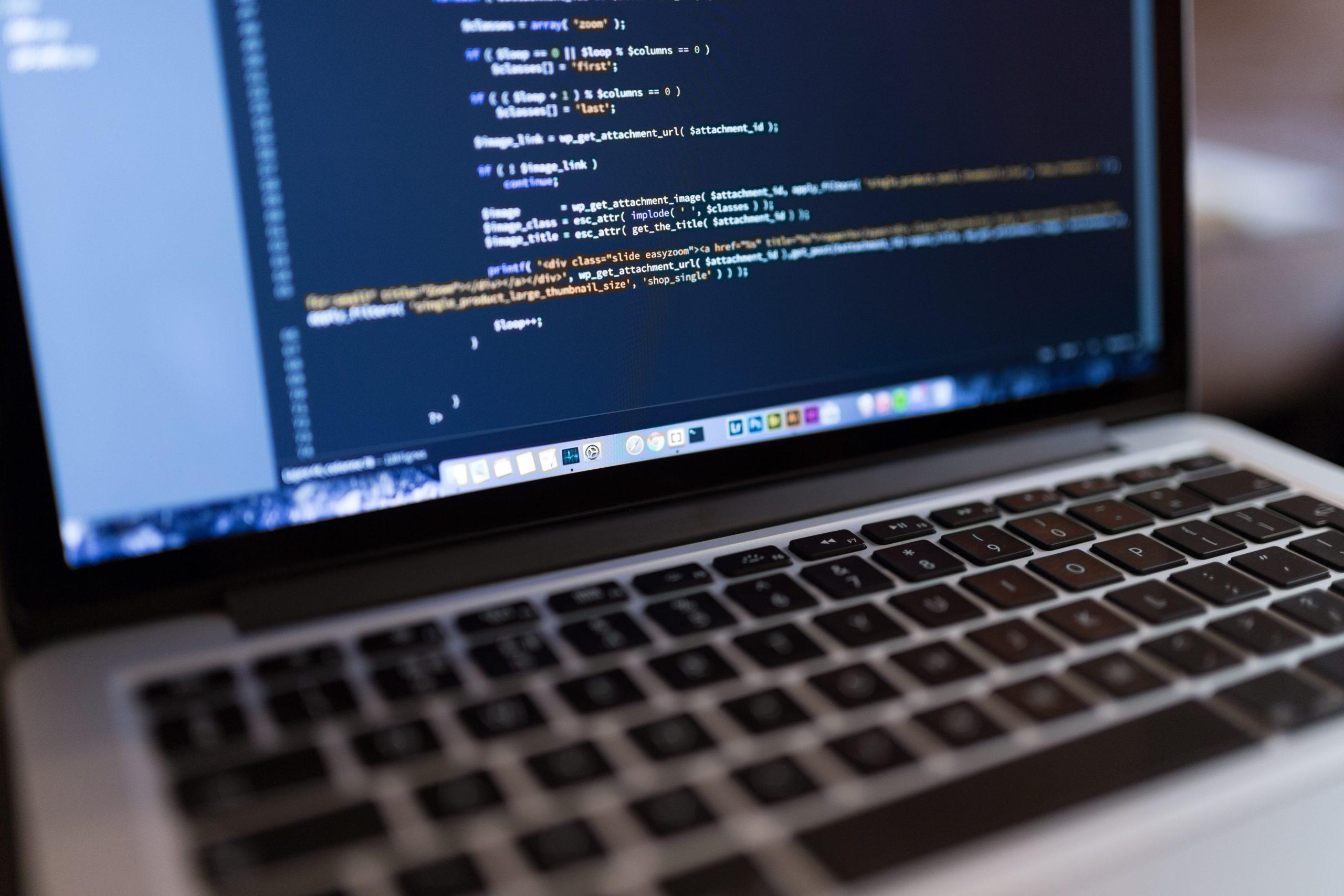 html displaying on computer screen